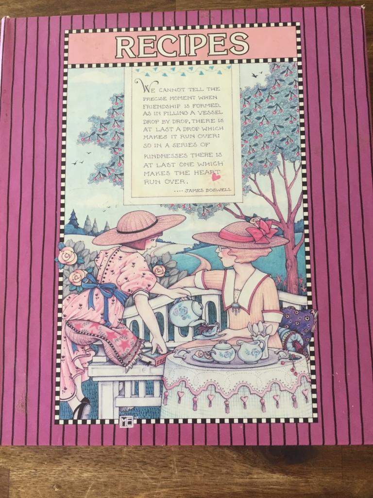 Mary Englebriet Recipe book