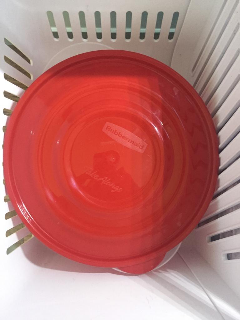 Bowl in freezer