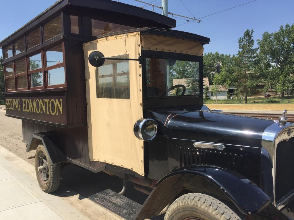 Vintage Edmonton Bus