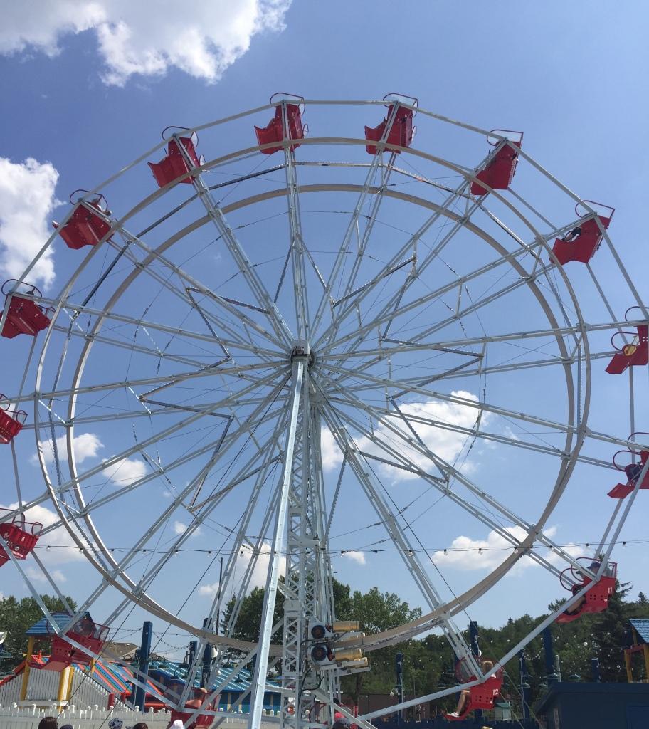 Ferris wheel in Fort Edmonton