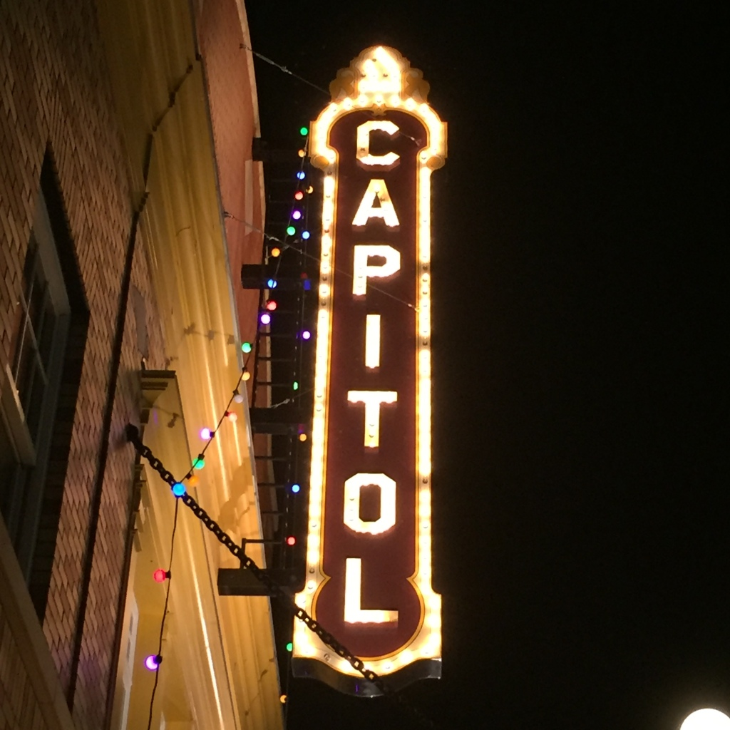 Capital Theater sing in Forst Edmonton