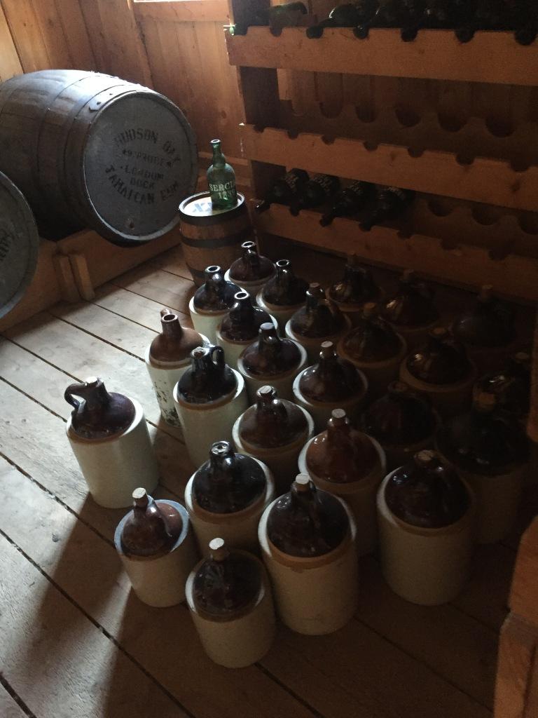Little brown jugs