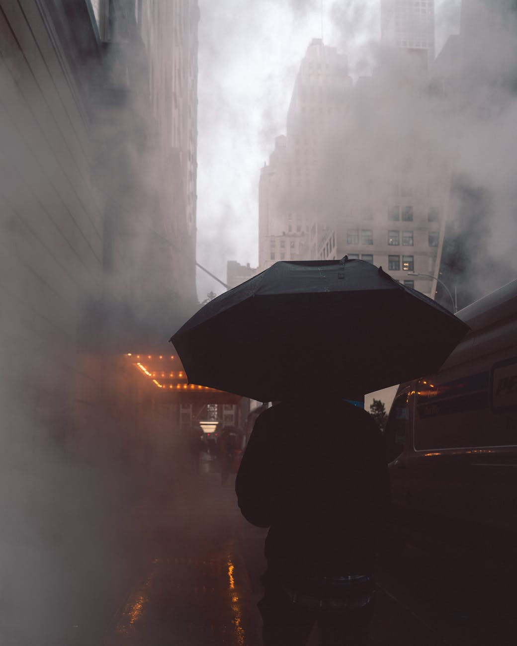 Smoggy London Street