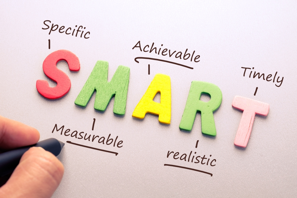 SMART Goals chart
