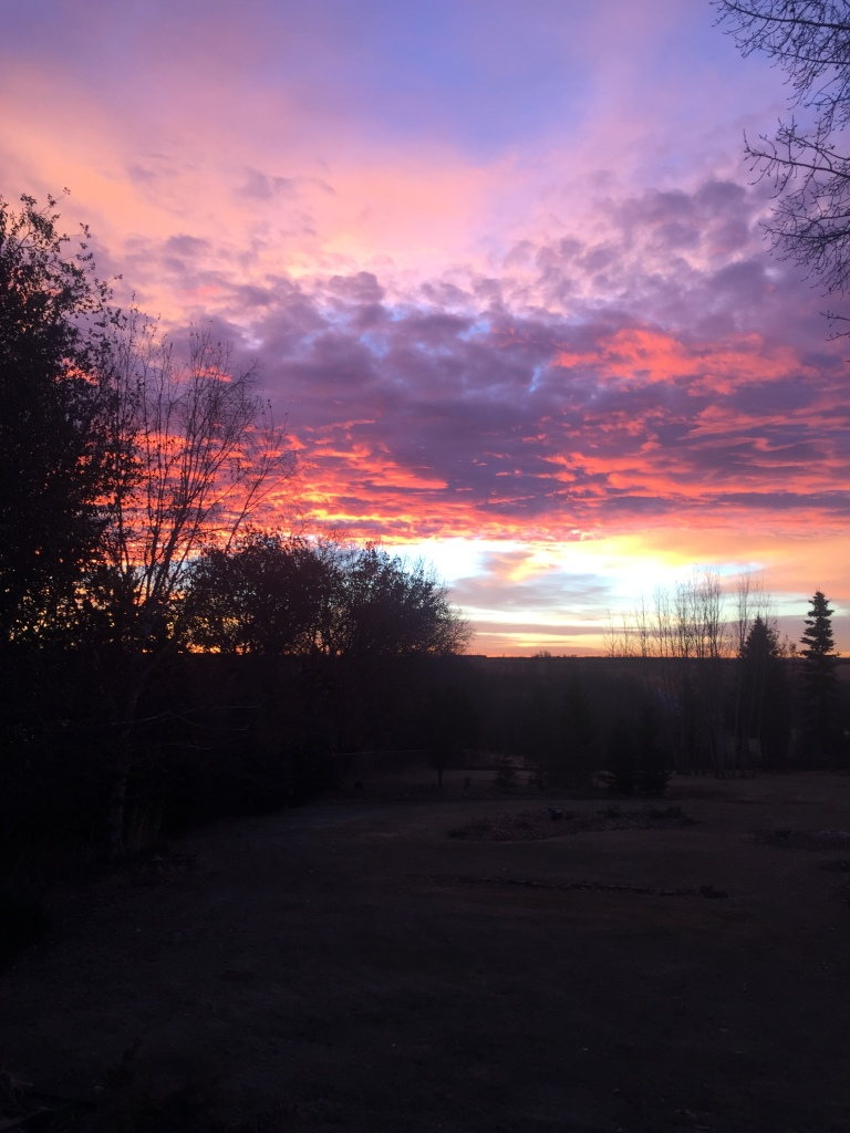 Sunrise on new day