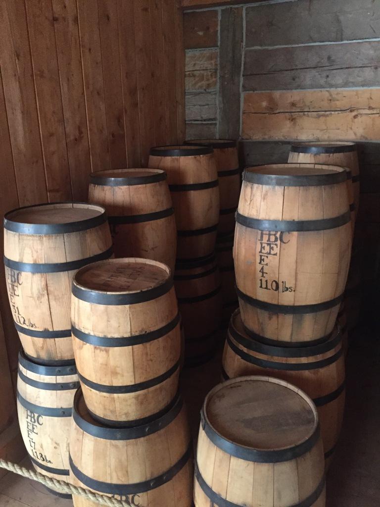 Dry good barrels