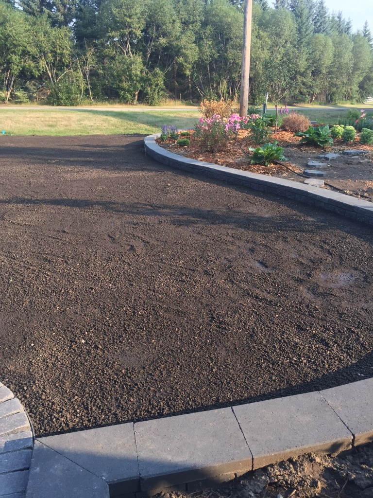 top soil installed ready for sod