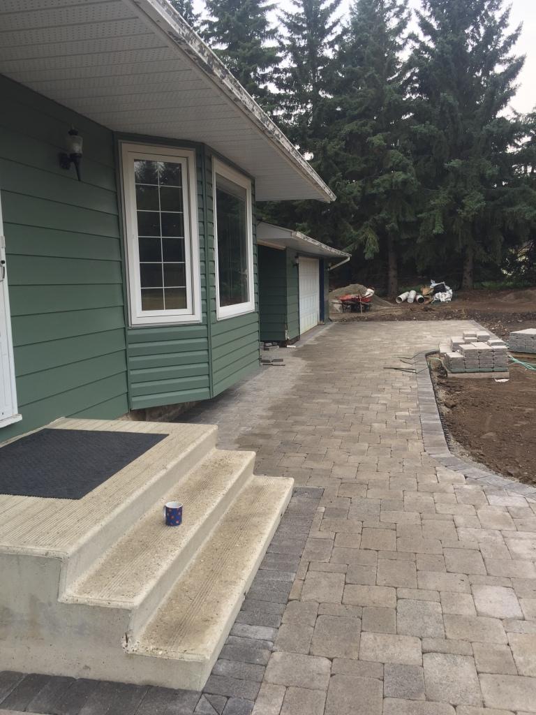 Brick finished